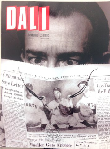 Salvador Dalí and magazines