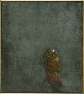 Portrait of Gala with Turban