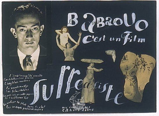 Original per a cartell Babaouo c'est un film surrealiste, 1932