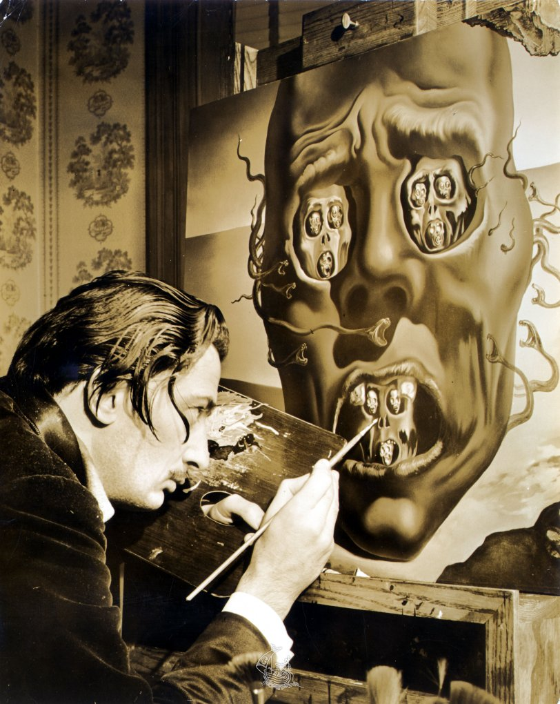 salvador dal atilde shy s biography gala salvador dali foundation eric schaal salvador dalatildeshy painting the face of war 1941