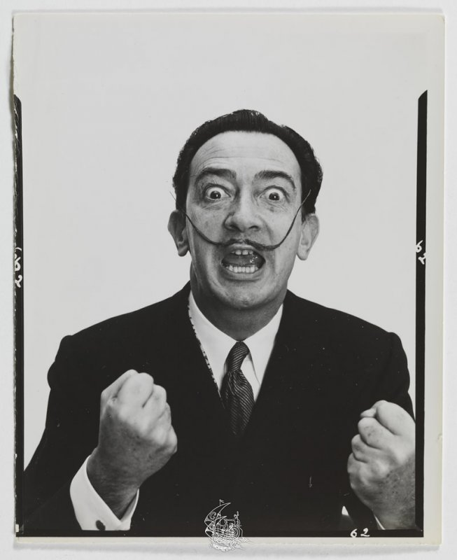 Preferência Variants from Dali's mustache | Exhibitions | Salvador Dalí Work  ZH14