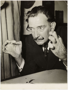 Dalí in a picture by Associated Press