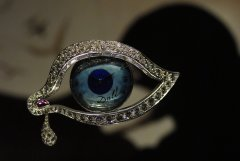 The Eye of Time, one of the most representative jewels from Salvador Dalí's collection.