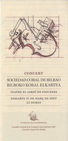 15th edition of the Foundation's concert. Year 2007