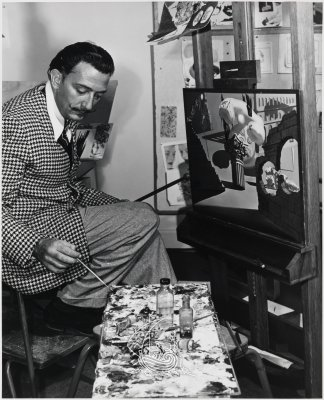 Salvador Dalí painting for the Walt Disney project <em>Destino</em>, 1946