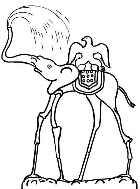 Elefantes Del Aire Imágenes Para Pintar Fundació Gala Salvador