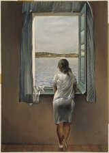 Girl at a window