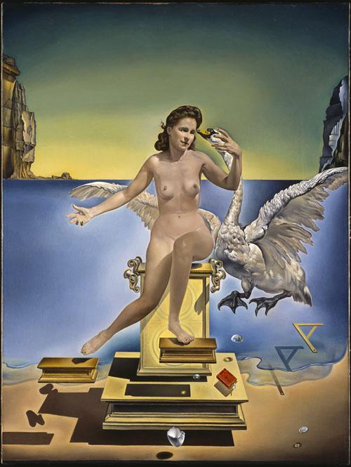 Leda. Salvador Dalí. Museo de Figueras