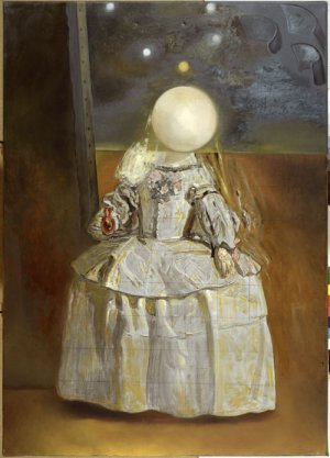 <em>The Pearl. After the Infanta Margarita by Velázquez</em>, 1981