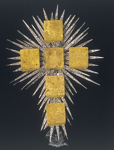 The Gold Cube Cross
