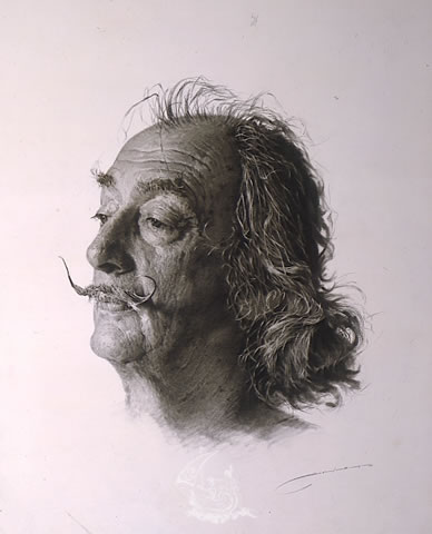 Portrait of Dalí
