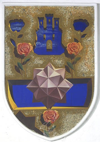 Untitled. Interpretation of the coats of arms of the lineage of the Púbol Barons