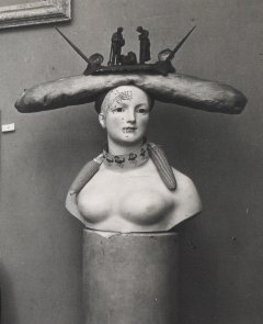 Man Ray, View of the<em>Exposition surréaliste</em> in the Galerie Pierre Colle (detail), 1933