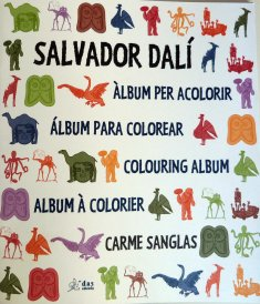 Salvador Dalí. Colouring Album.