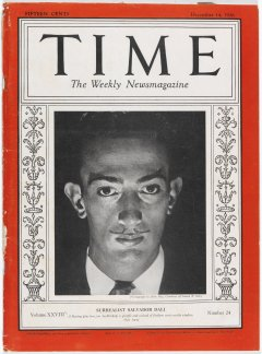 Cover of the Time magazine, New York, number 24, 12/14/1936