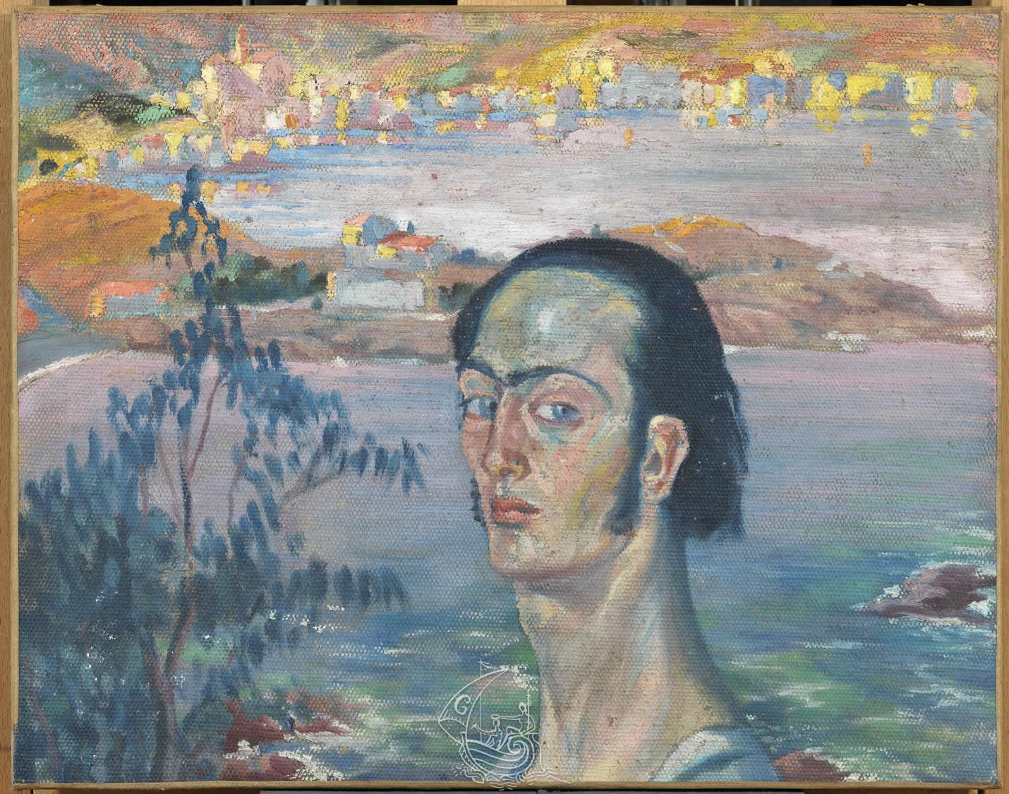 Autoportrait Au Cou Raphaelesque Fundacio Gala Salvador Dali