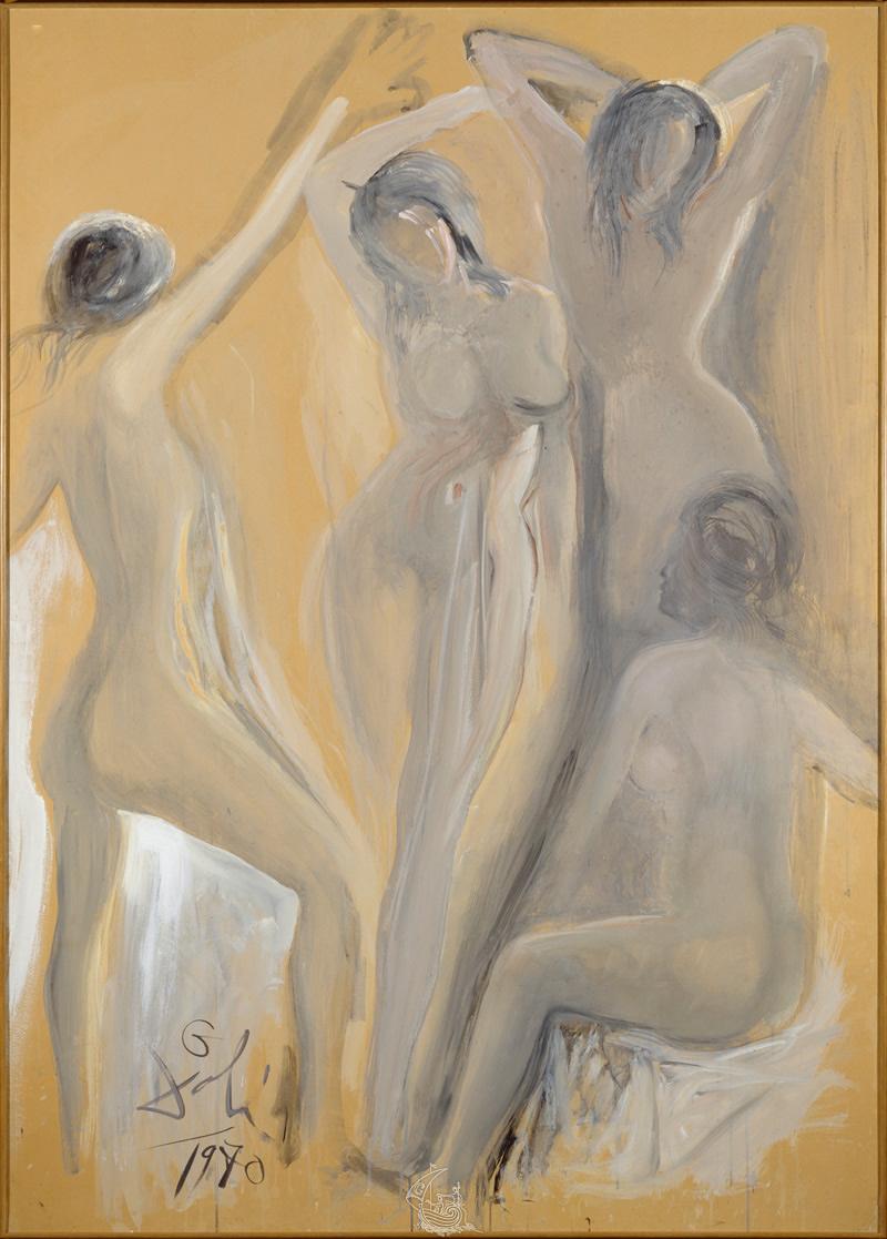 The Young Ladies Of Avignon Fundacio Gala Salvador Dali