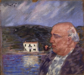 Portrait of My Father and the House at Es Llaner