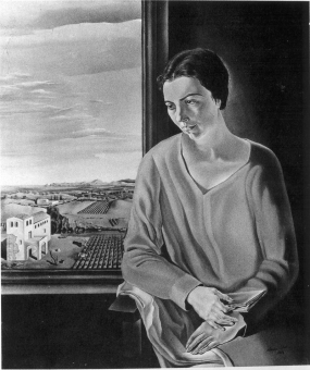 Portrait of Maria de Abadal