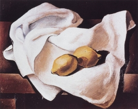 Still Life with Two Lemons