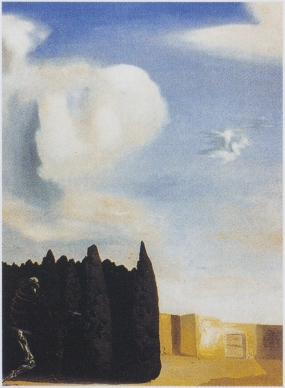 Central Courtyard from The Isle of the Dead (Reconstructive Obsession after Böcklin)