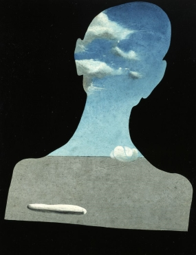 Man with His Head Full of Clouds