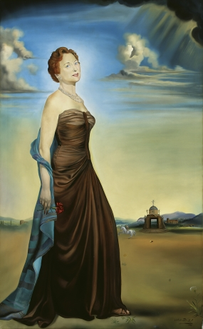 Retrato de la señora de James Reeves