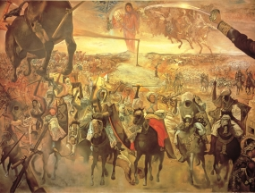 The Battle of Tetuan (Homage to Marià Fortuny)