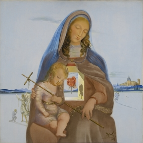 The Mystical Rose Madonna