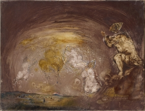 Untitled. Landscape with Celestial Figures