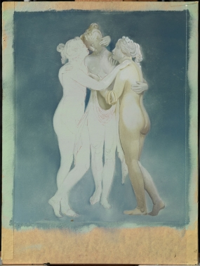 "Untitled. After ""The Three Graces"" by Canova (unfinished)"