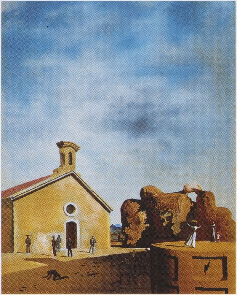 The Bread On The Head And The Prodigal With The Father Fundacio Gala Salvador Dali