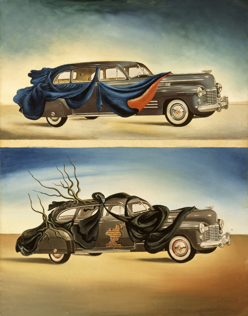 Untitled. Dressed Automobiles