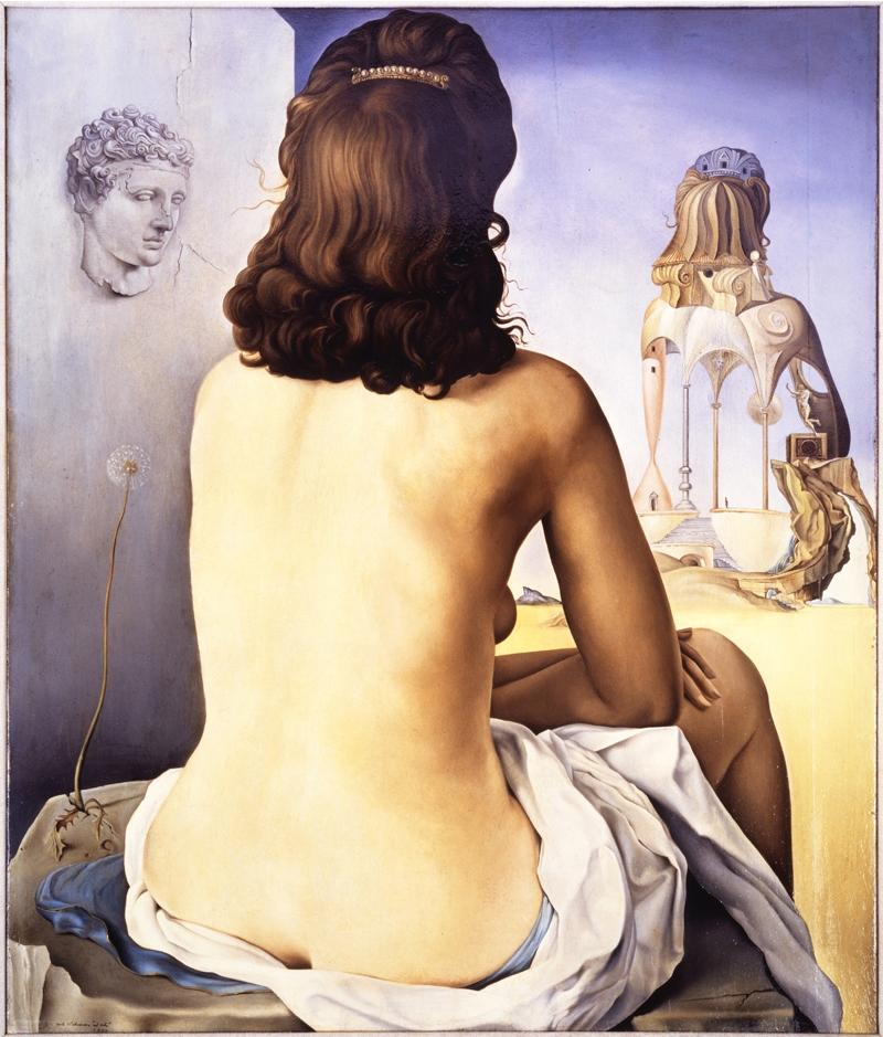 Mi Esposa Desnuda Contemplando Su Propio Cuerpo Convirtiéndose En