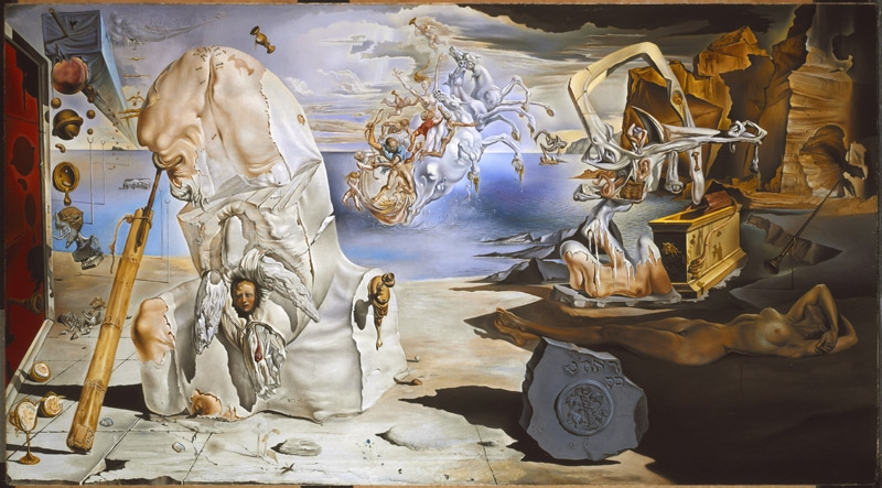 Apotheosis of Homer (Diurnal Dream of Gala)