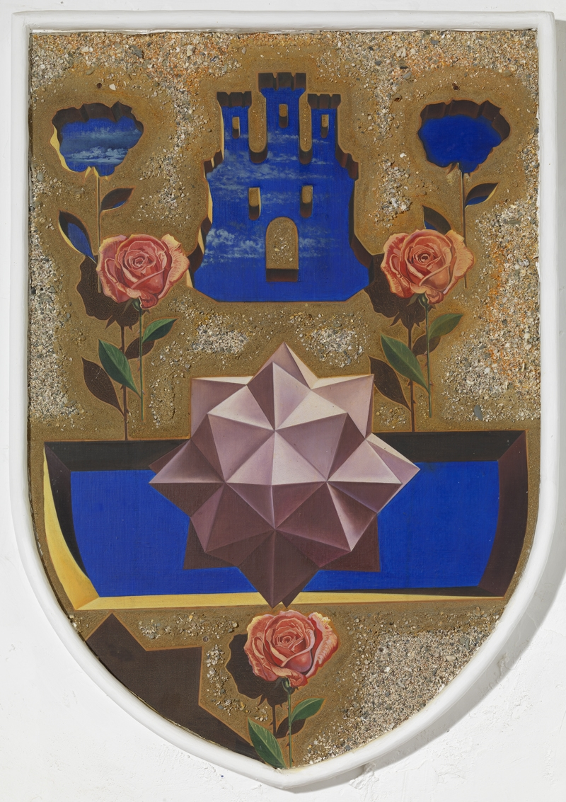 Untitled. Reinterpretation of one of the coats of arms in the Coat of Arms Room of the Gala Dalí Castle in Púbol