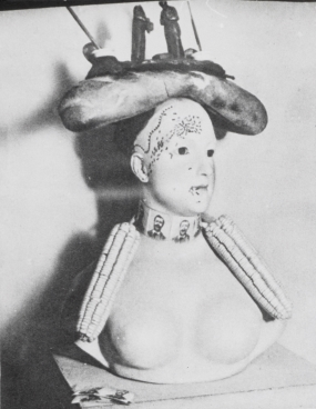 Bust of Woman Devoured by Ants