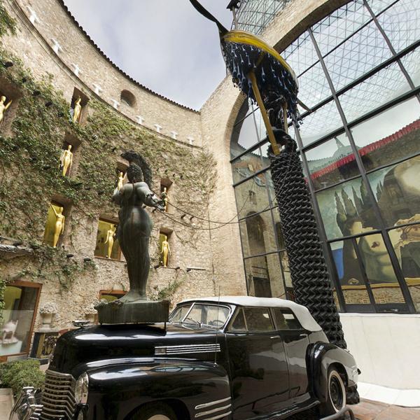 Museo Dali Figueres.Virtual Tour Fundacio Gala Salvador Dali